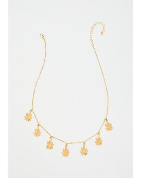 Cali Gold Chain Necklace