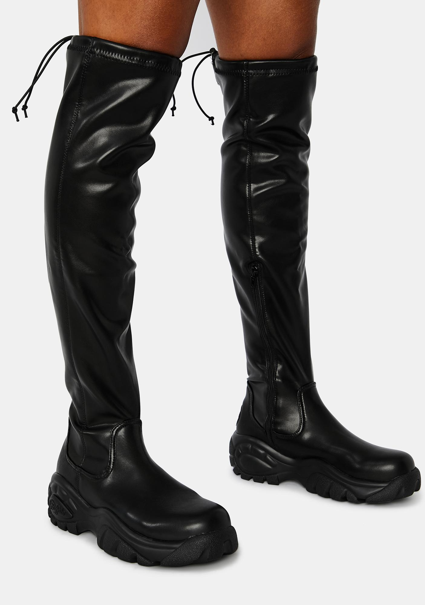 Buffalo London Lonnie Over The Knee Boots