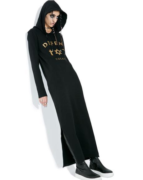 April Hoodie Maxi Dress
