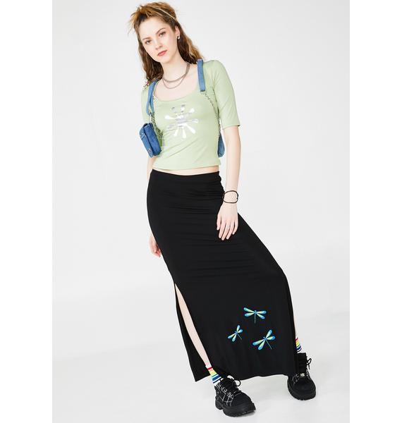dELiA*s by Dolls Kill Teen Crush Maxi Skirt