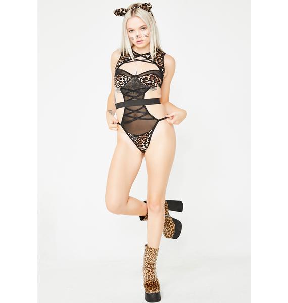 Sex Kitten Costume Set