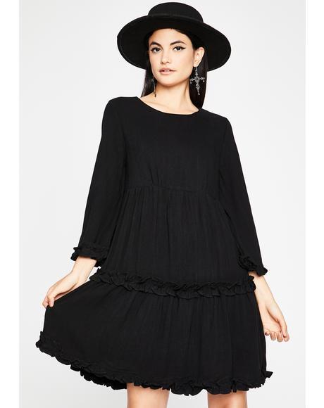 All I Wanna Do Babydoll Dress