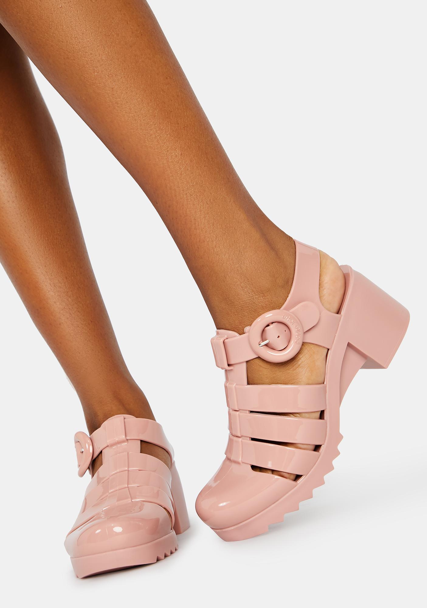 Petite Jolie Blush Vancouver Jelly Sandals