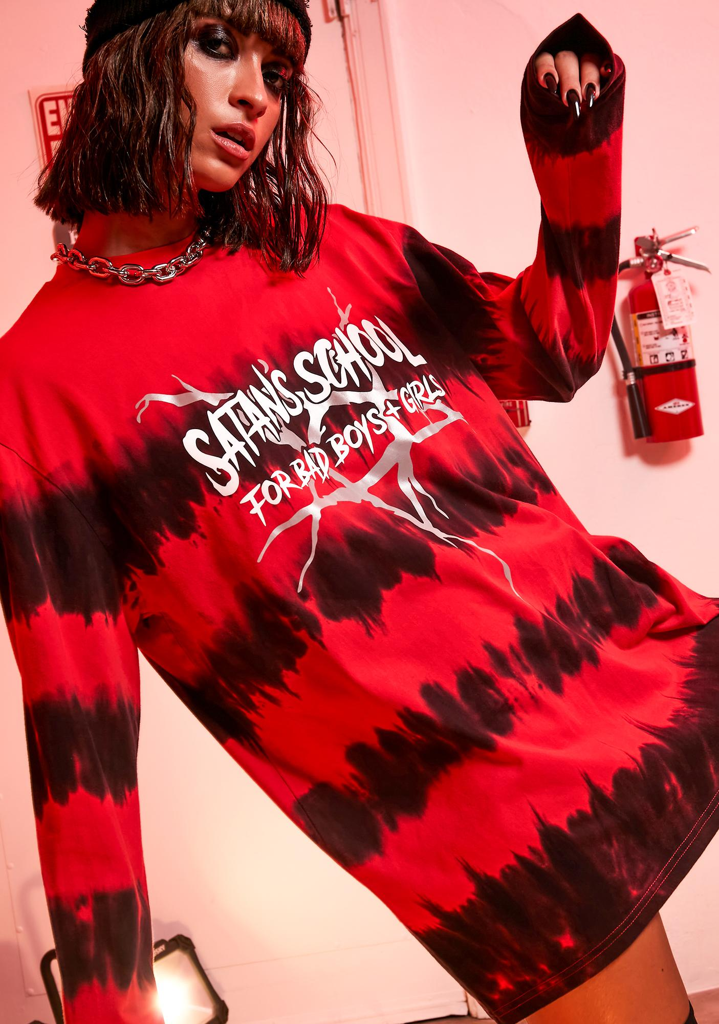 Current Mood High School Hell Graphic Tee