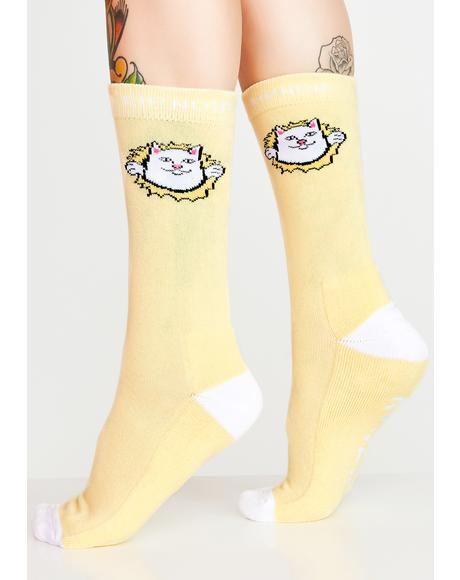 Nermamaniac Socks