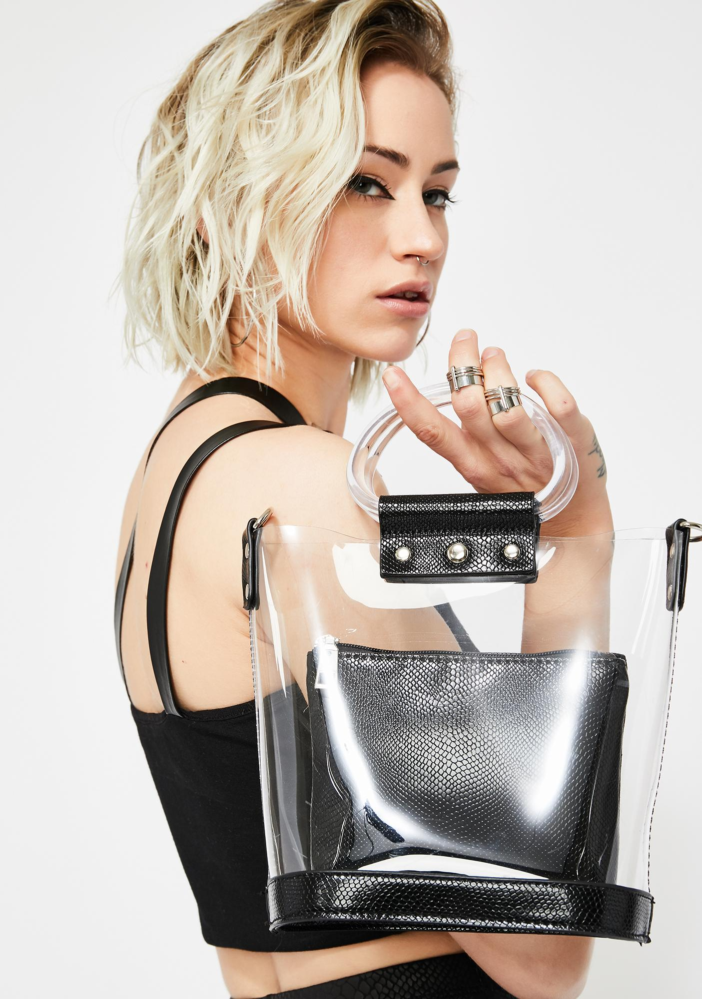 Street Chic Clear Bag