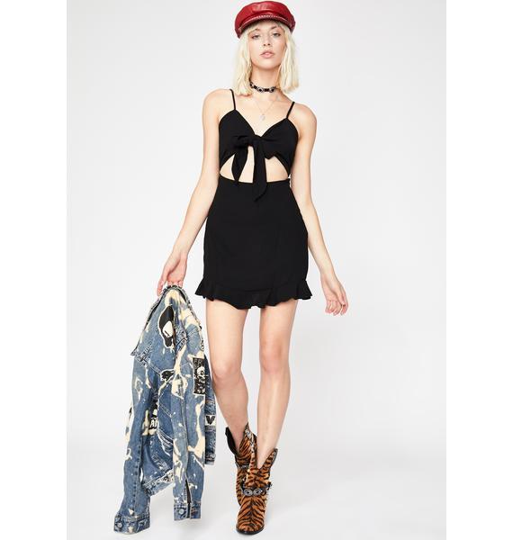 Babe Status Mini Dress