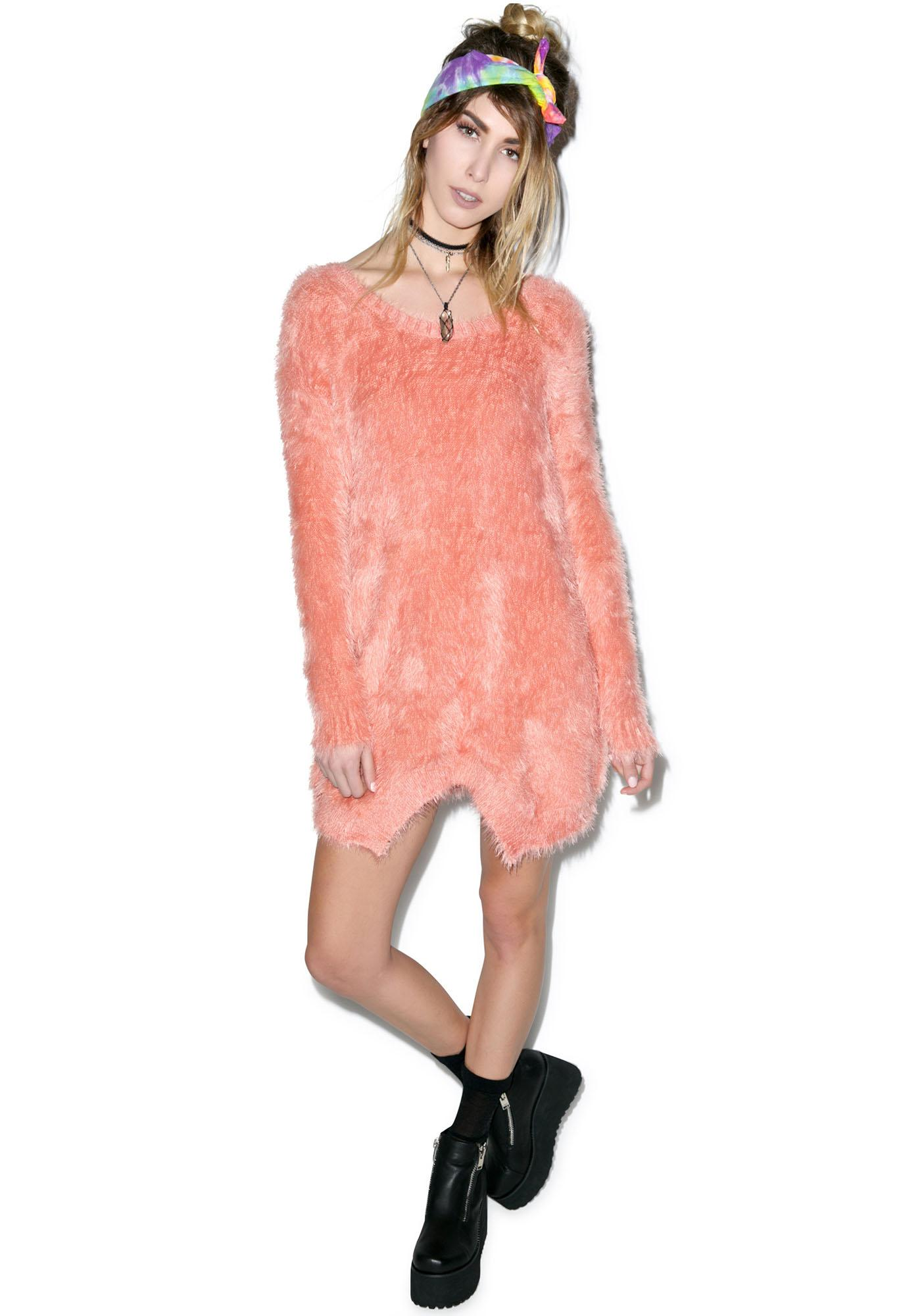 Somedays Lovin Roadside Fluffy Jumper Dress