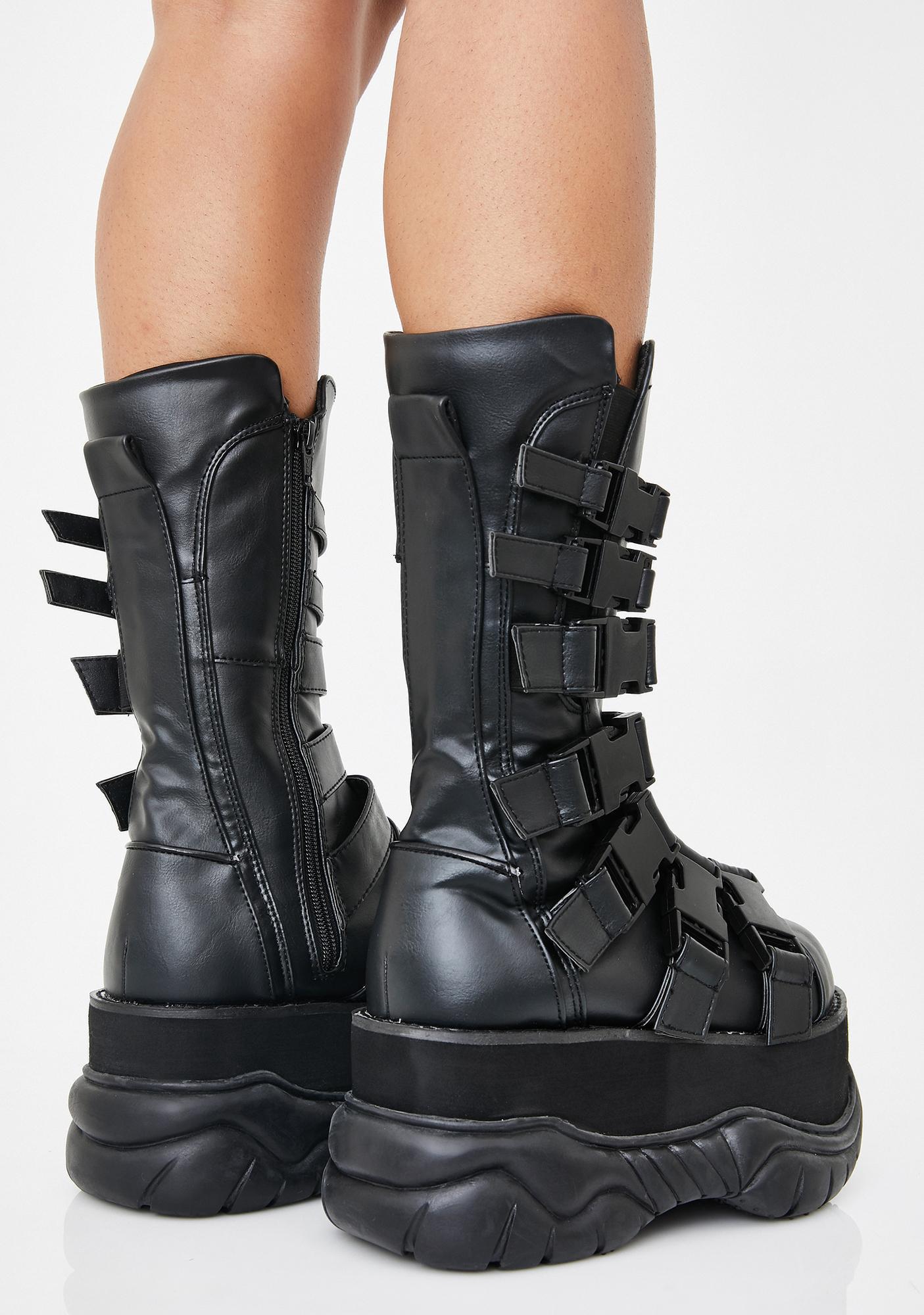 Demonia Neptune War Platform Boots