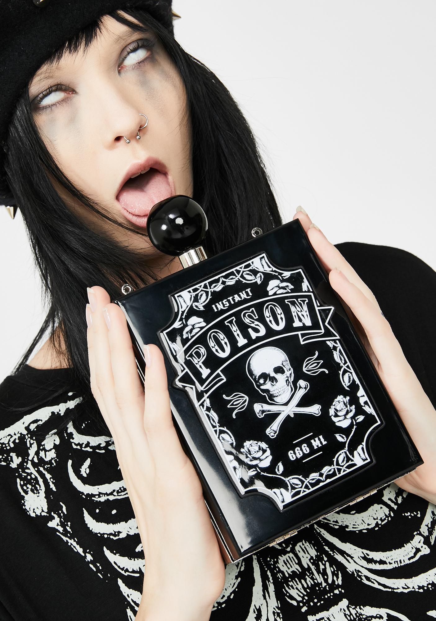 Dolls Kill Evil Elixir Crossbody Bag