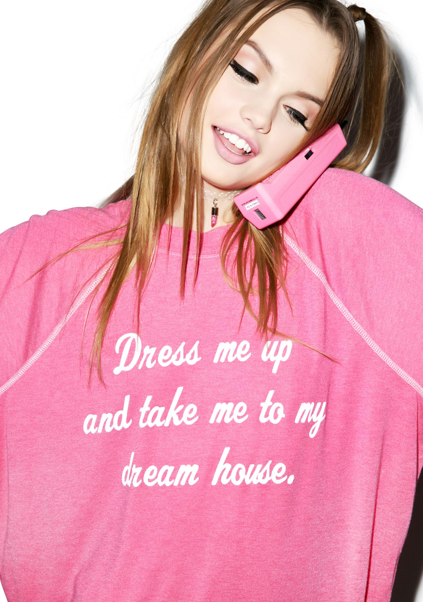 Wildfox Couture Take Me To My Dream House Kim Sweater