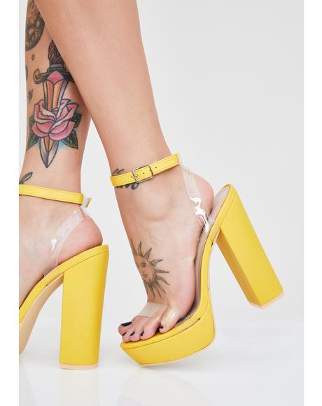 It Girl Platform Heels