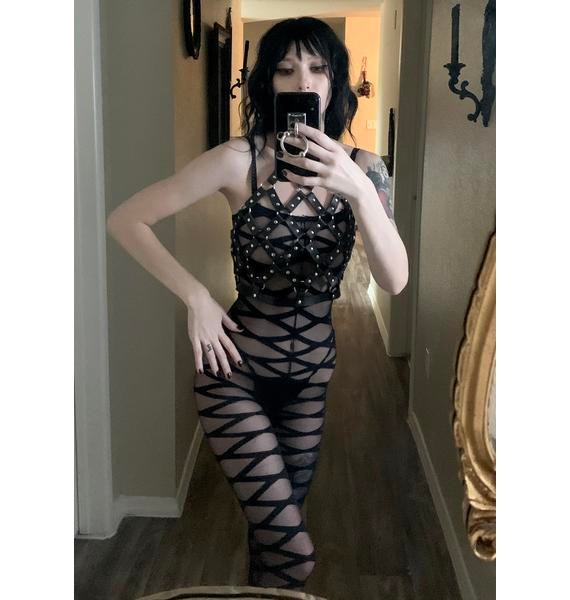 Thirsty Ego Sheer Catsuit