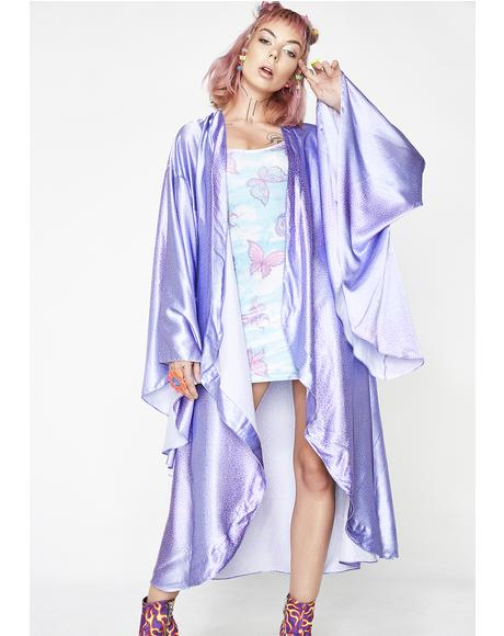 Cheetah Elegance Kimono