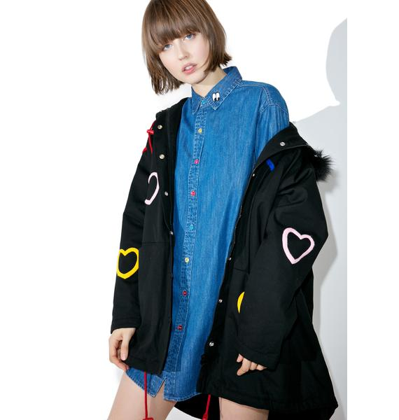 Lazy Oaf Sad Rainbow Shirt