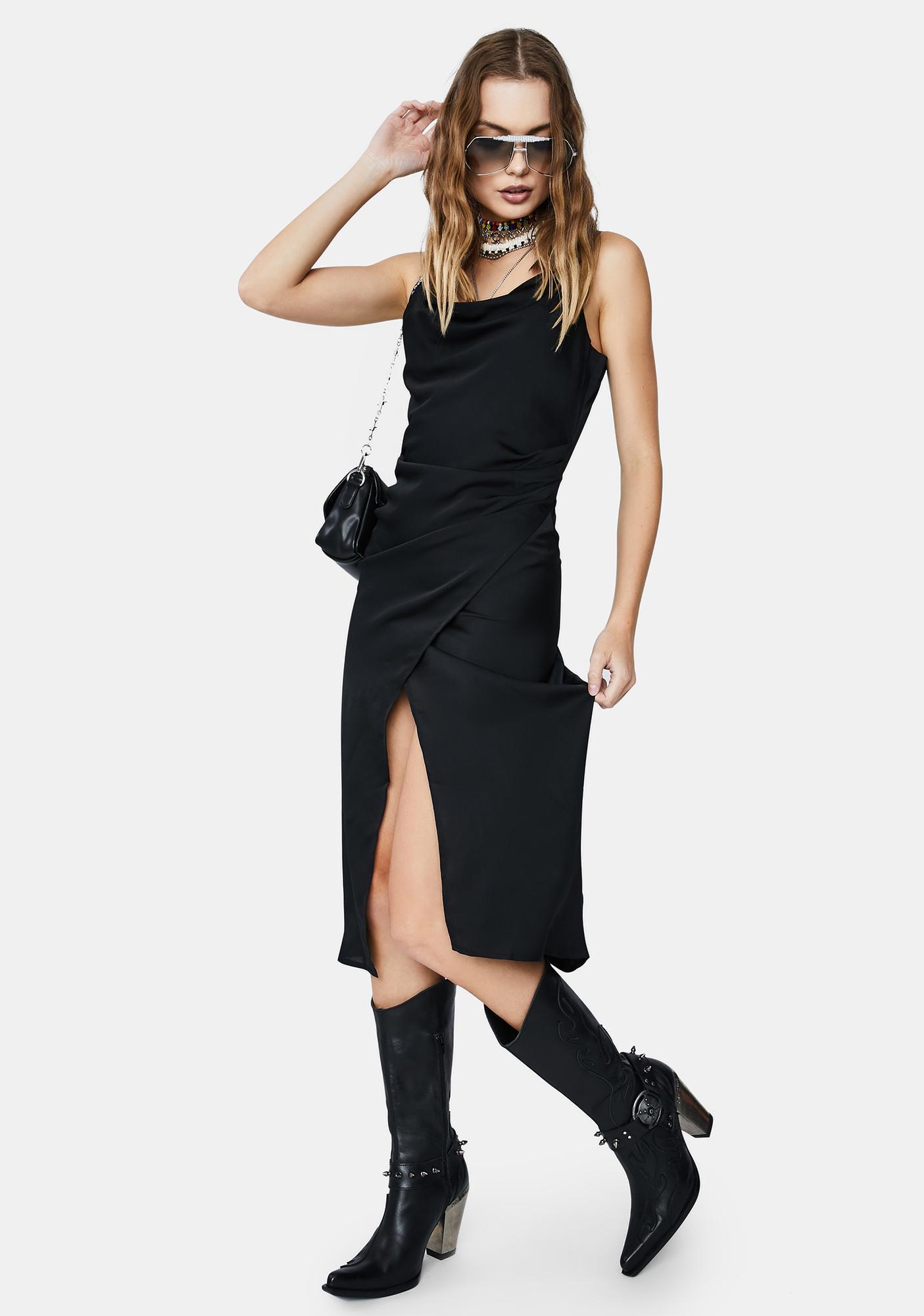 Re Named Maddy Maxi Slip Dress
