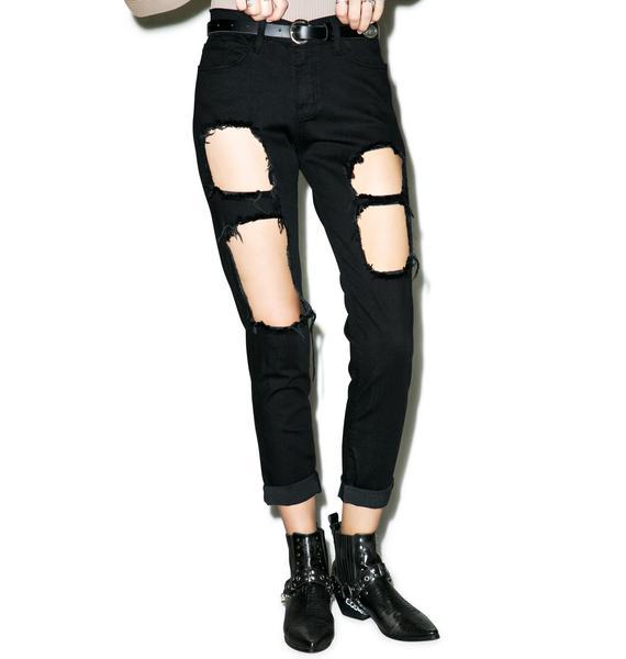 Distressed Nomi Jeans