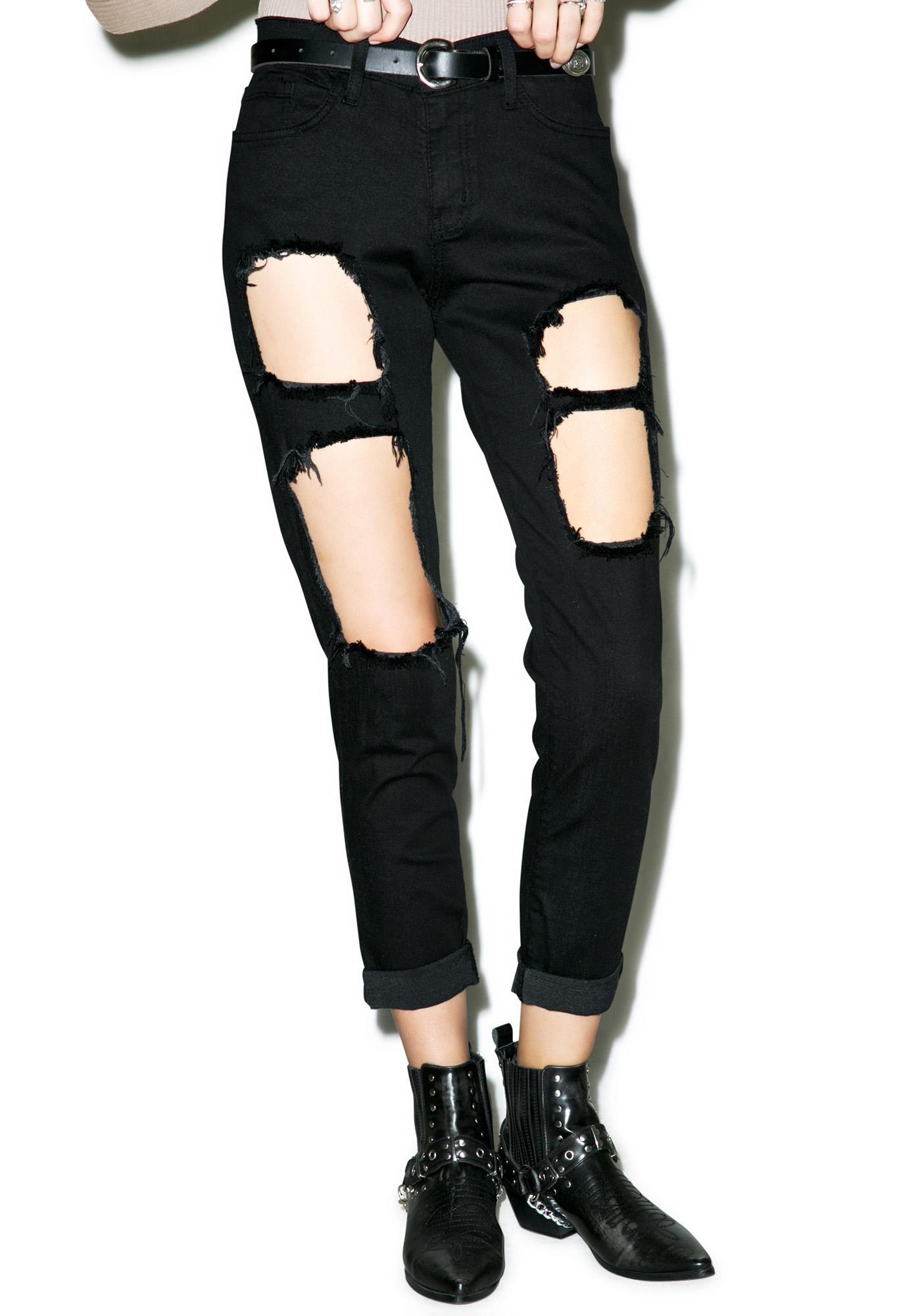 Distressed Nomi Jeans
