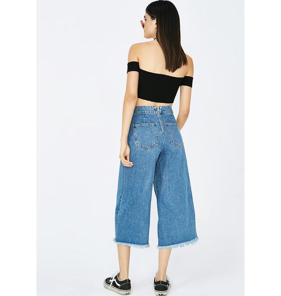 Dead End Lace-Up Jeans