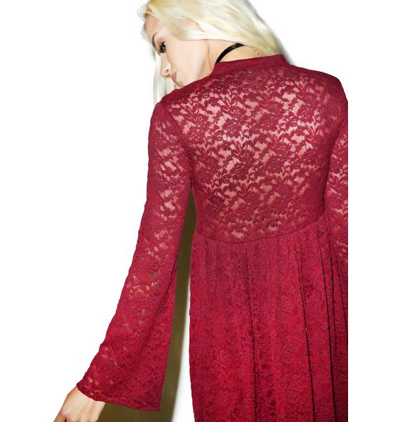 Somedays Lovin Night Dust Lace Dress