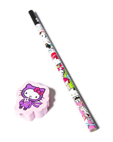 x Hello Kitty Ninja Pencil