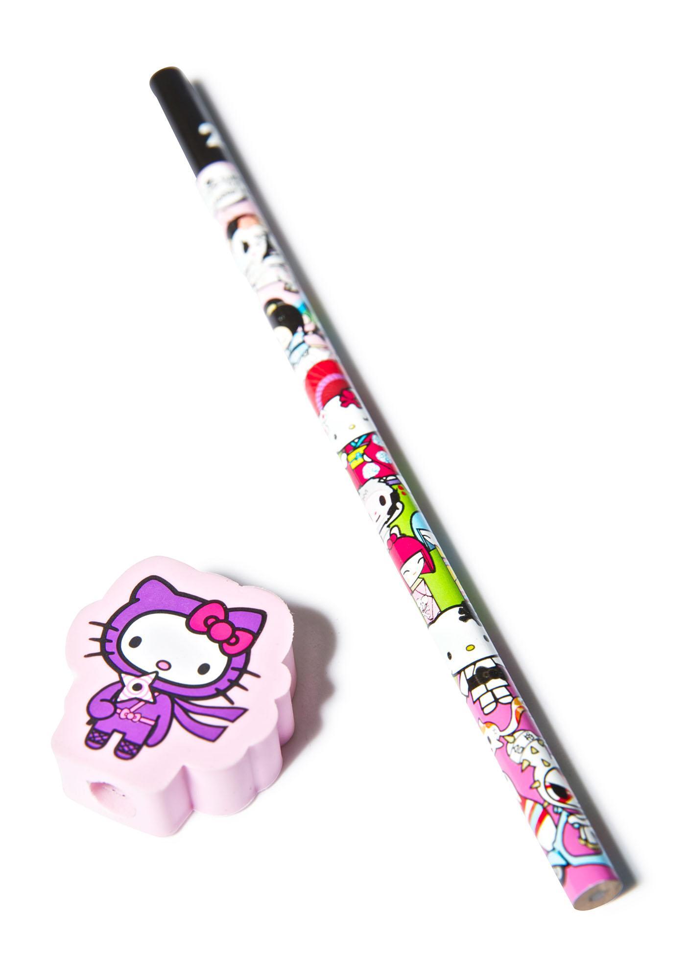 Tokidoki x Hello Kitty Ninja Pencil