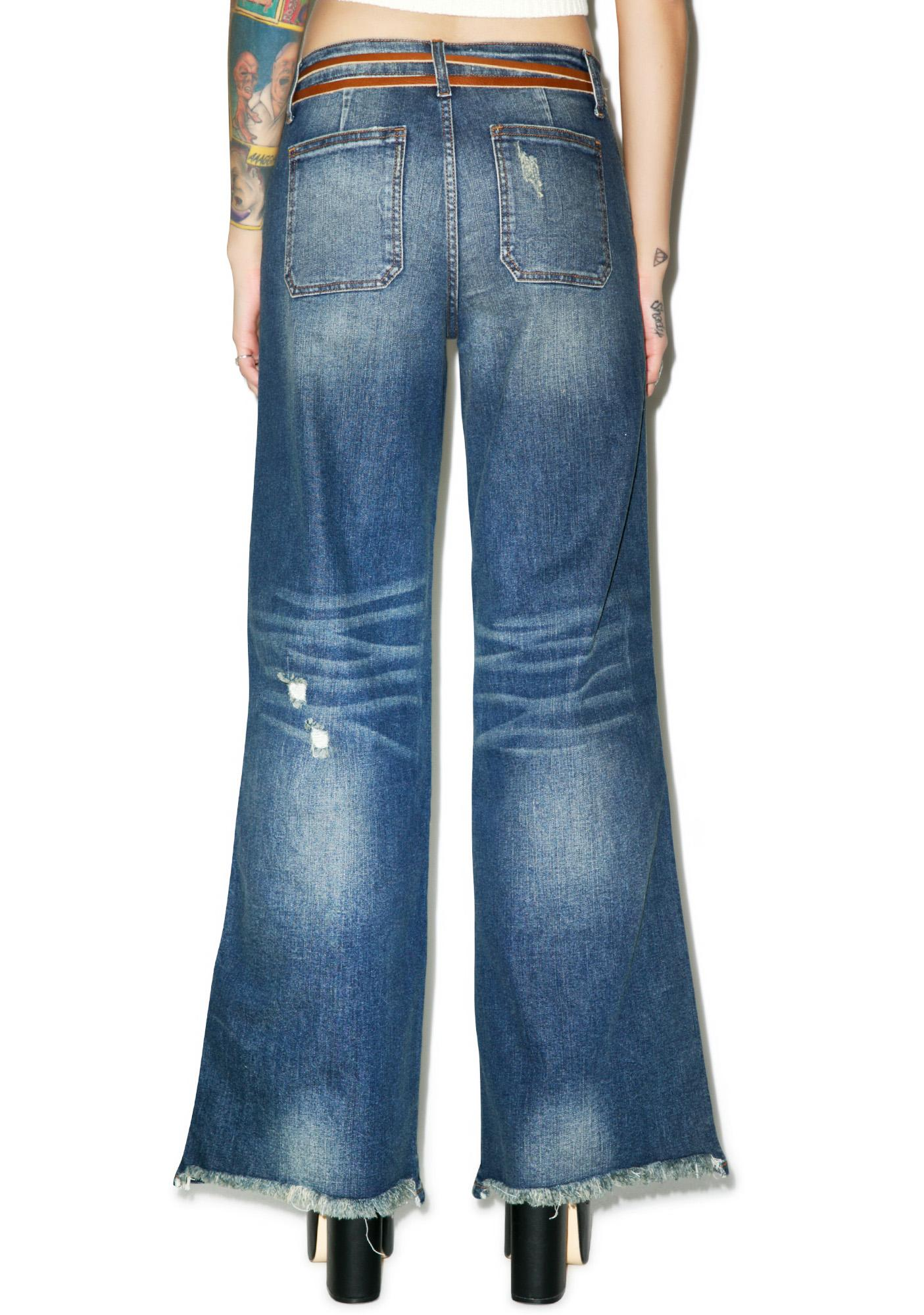 Vista Royale Wide Leg Jeans