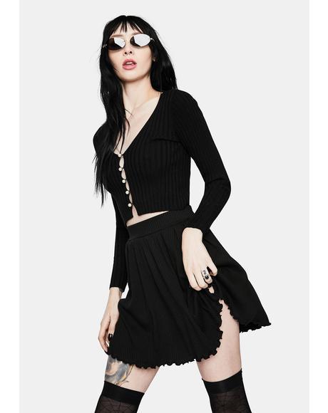 Deep In My Heart Mini Skirt