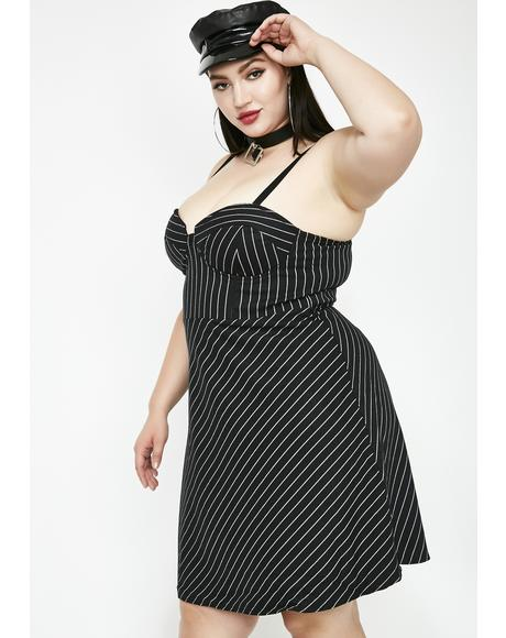 Power Of Persuasion Striped Dress