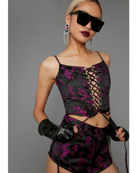 Undercover Influencer Corset Top