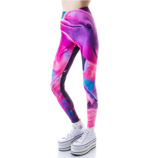 Iron Fist Dolphinography Leggings