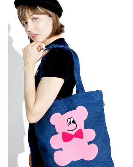 Fur Bear Tote Bag
