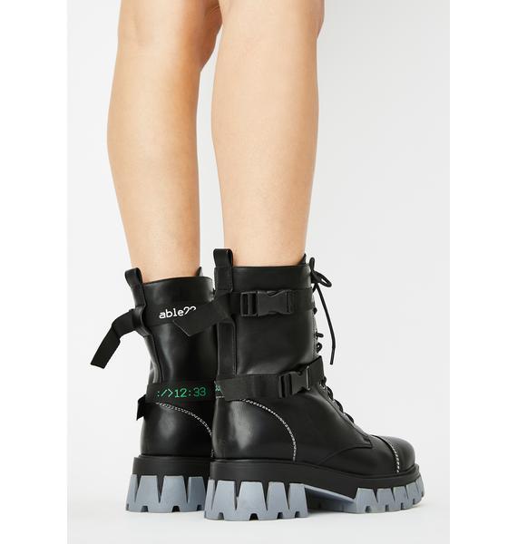 Koi Footwear Gorgon Ankle Boots