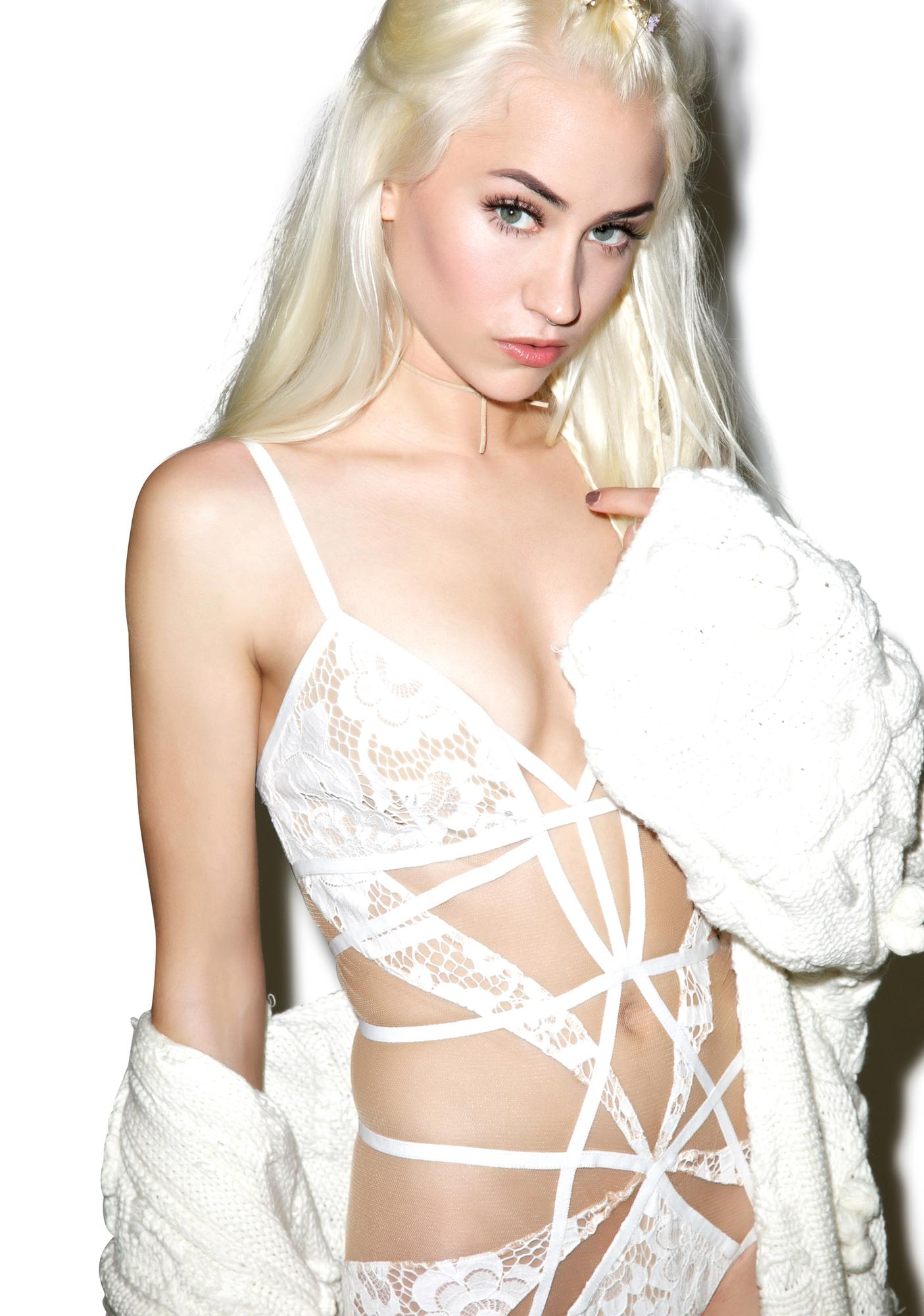 For Love & Lemons Ruby Cut Out Bodysuit