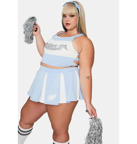 Dolls Kill True Heaven's Cheerleader Costume Set