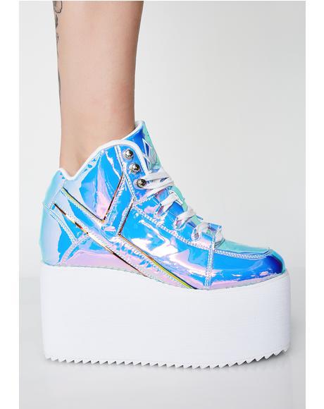 Euphoria Qozmo Platform Sneakers