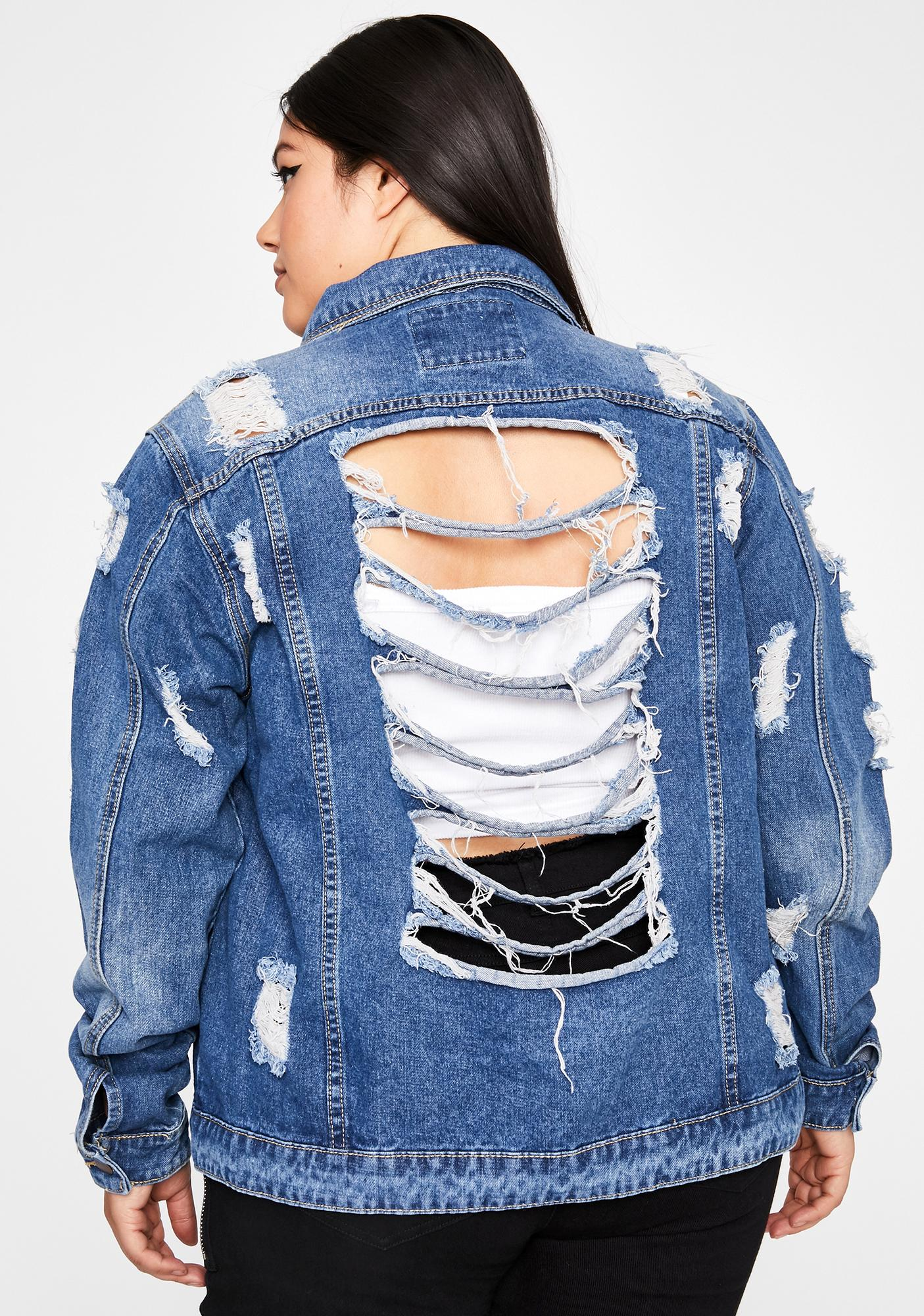 I'm Put To The Test Denim Jacket