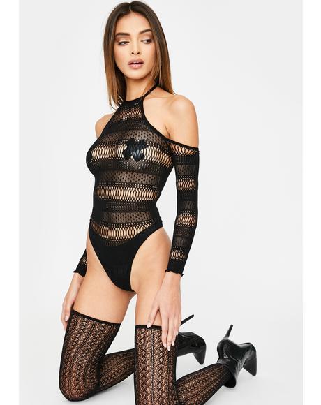 Inviting Desire Lace Bodysuit