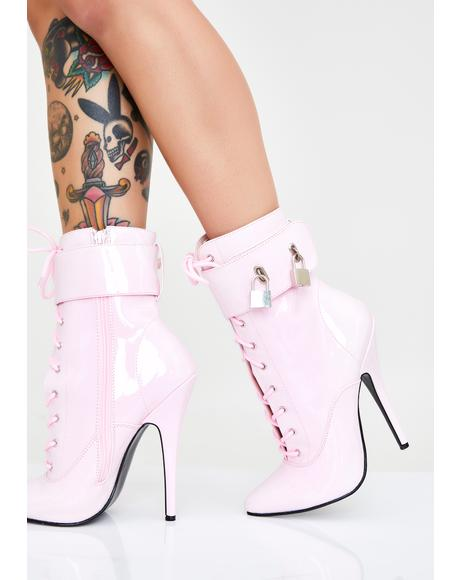 Fine Frenemy Lace Up Heels