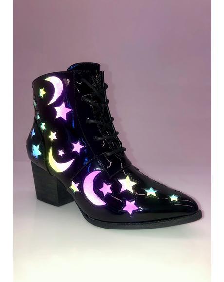 Aura Reflective Boots