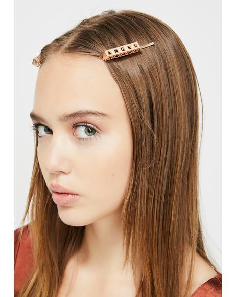 Heavenly Brat Hair Pins