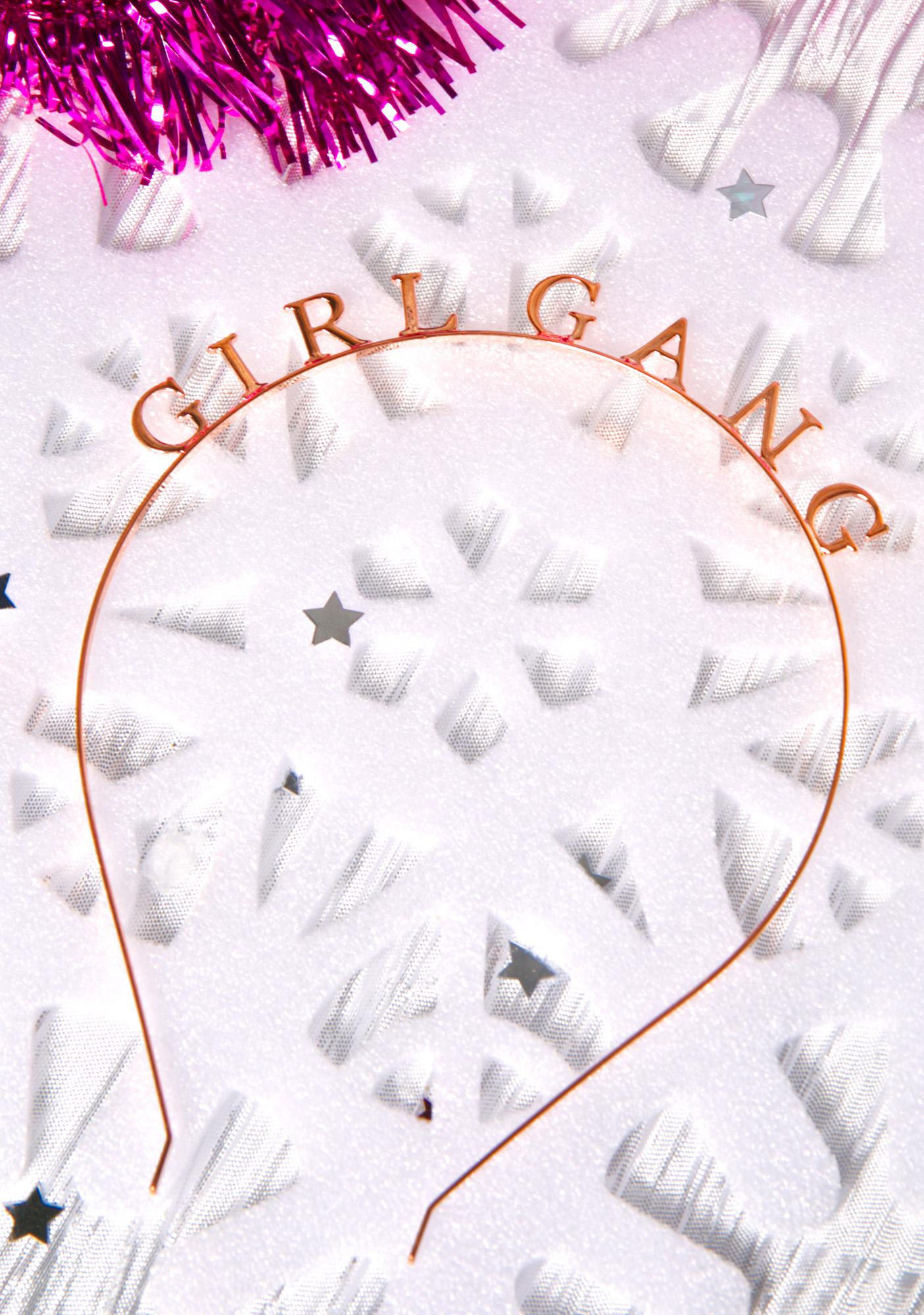 Girl Gang Headband