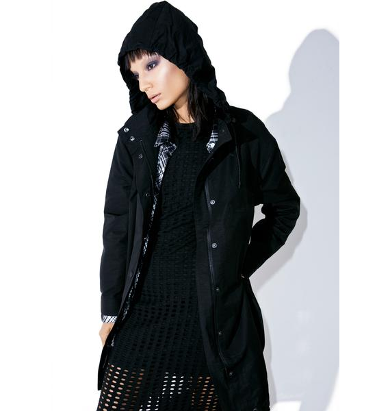 Kendall + Kylie Oversized Parka