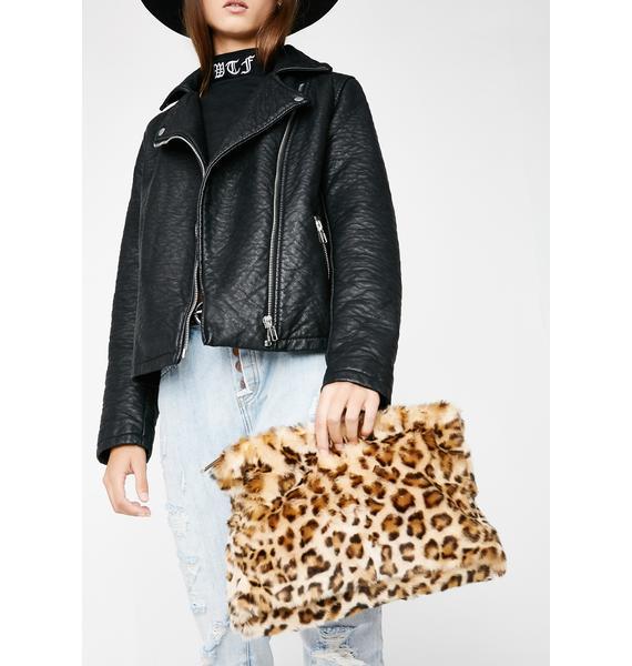 Pet The Leopard Crossbody Bag