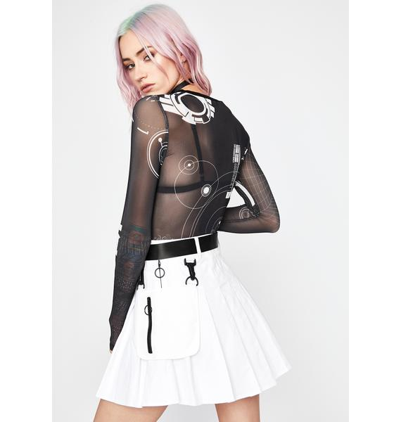 Current Mood High Security Utility Skirt