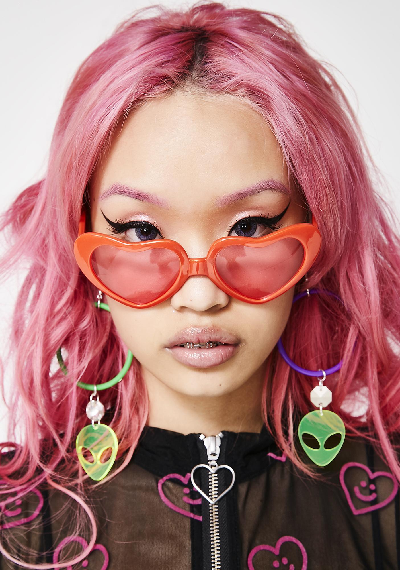 52b53e5006 Spread The Love Heart Sunglasses