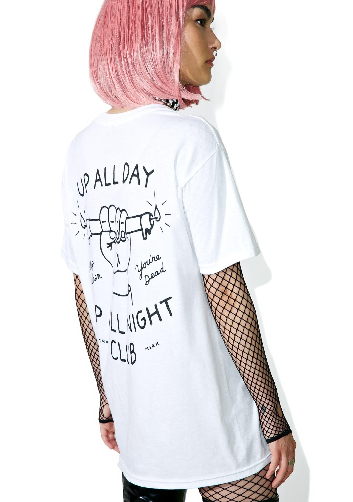 MNKR Up All Night Tee
