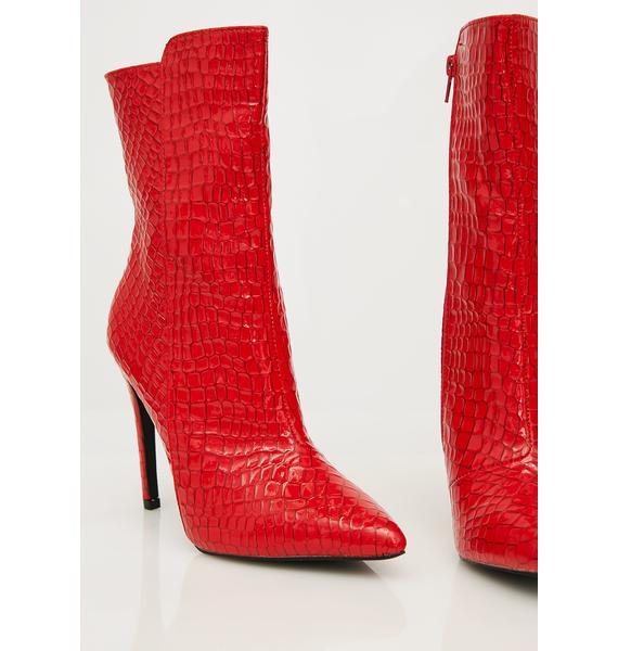 Public Desire Chile Patent Ankle Boots