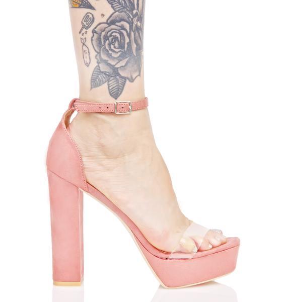 Blush Infamous Platform Heel