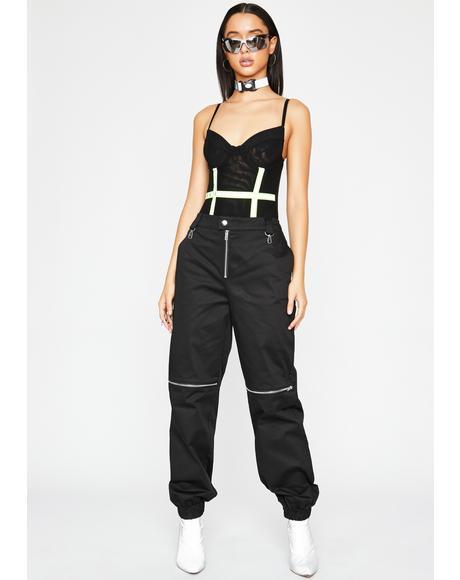 Baddie AF Reflective Bodysuit